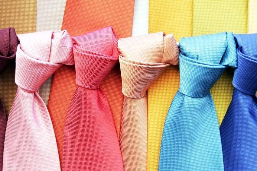 Bright Tie Colours