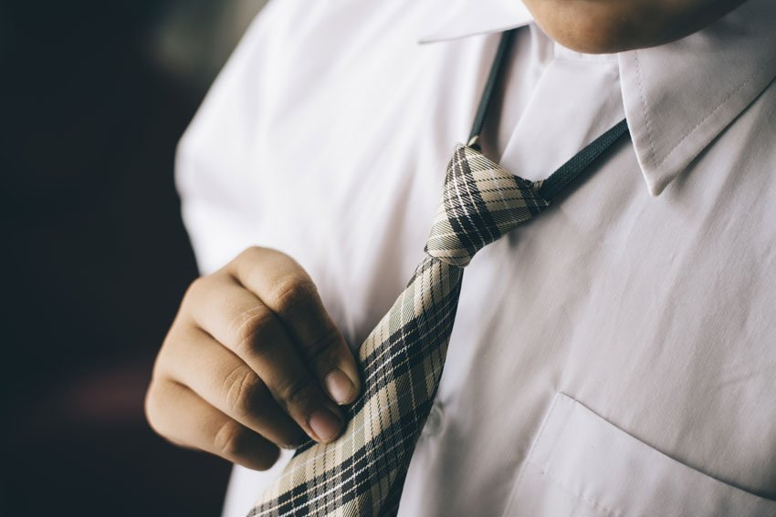 Elasticated Ties for Boys