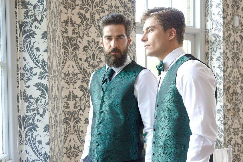 Matching Waistcoat and Cravat