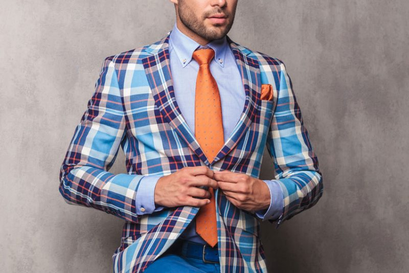 Patterned-Suit