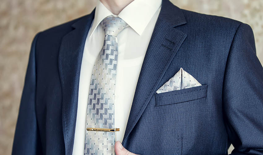 Winged Puff Pocket Square