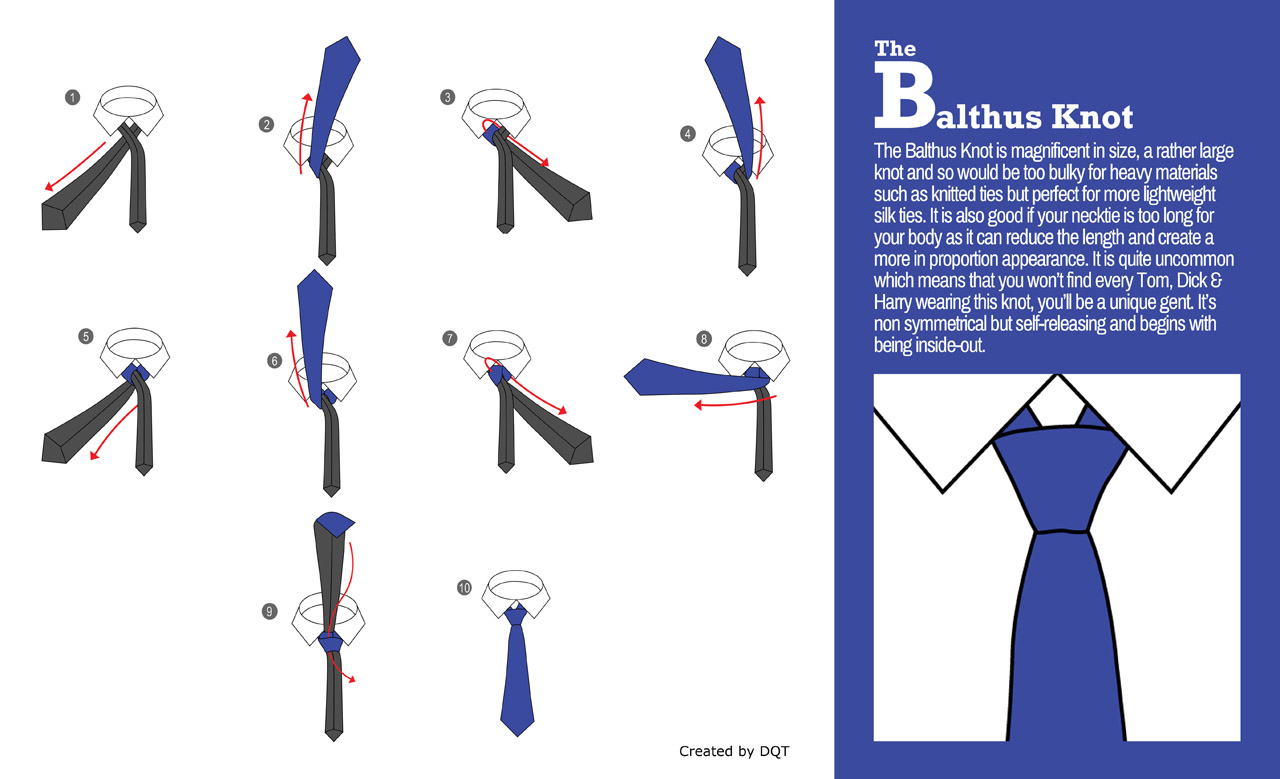 How To Tie a Balthus Knot (11 of 21) by DQT