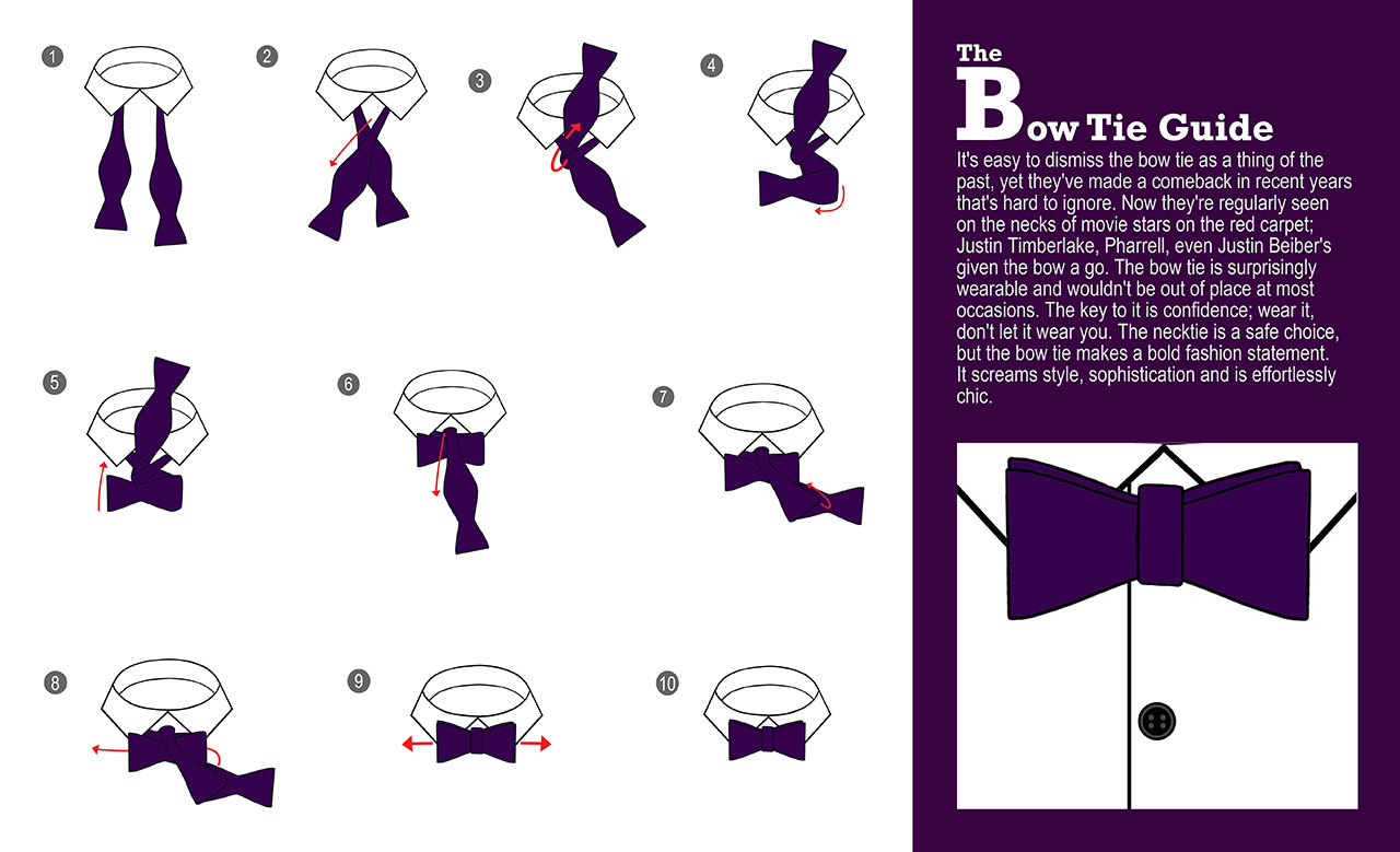 How To Tie a Bow Tie by DQT