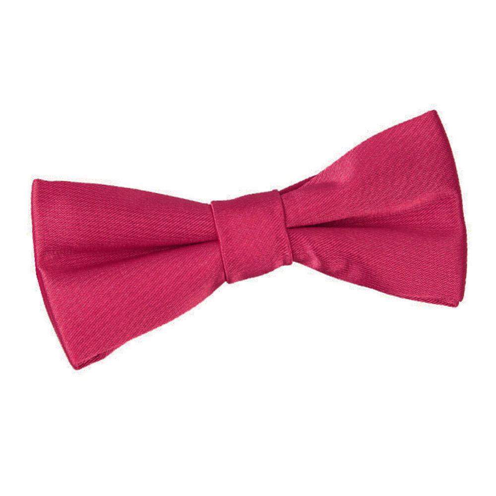 high quality childrens boys wedding bow tie crimson