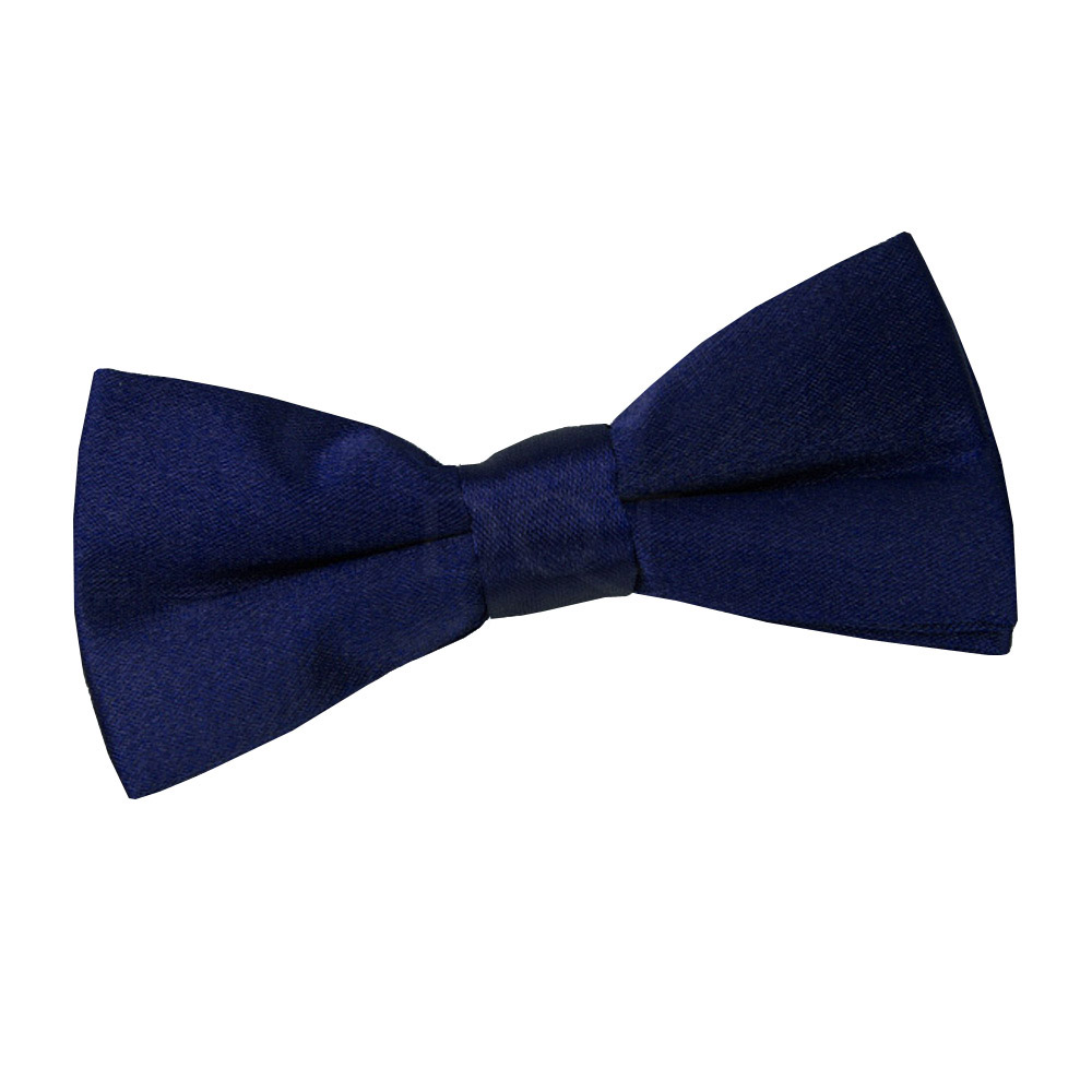 high quality pre boys wedding bow tie navy blue ebay