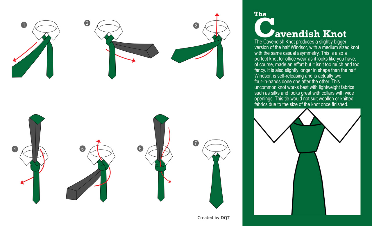 How To Tie a Cavendish Knot