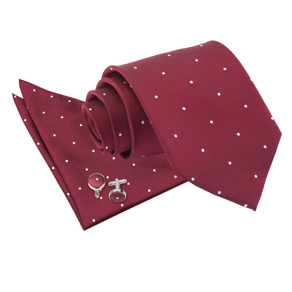 DQT Woven Floral Black Purple Mens Classic Tie Hanky Cufflinks Wedding Set
