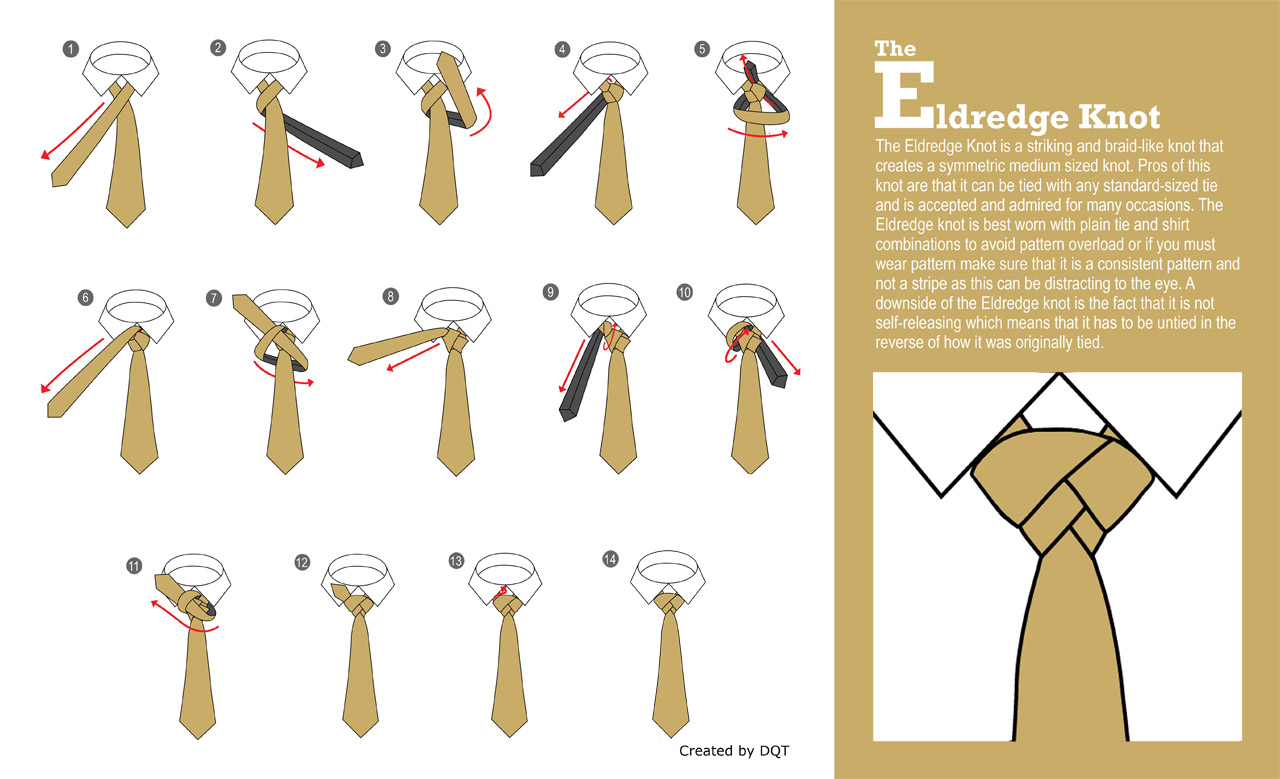 How To Tie a Eldredge Knot (21 of 21) by DQT