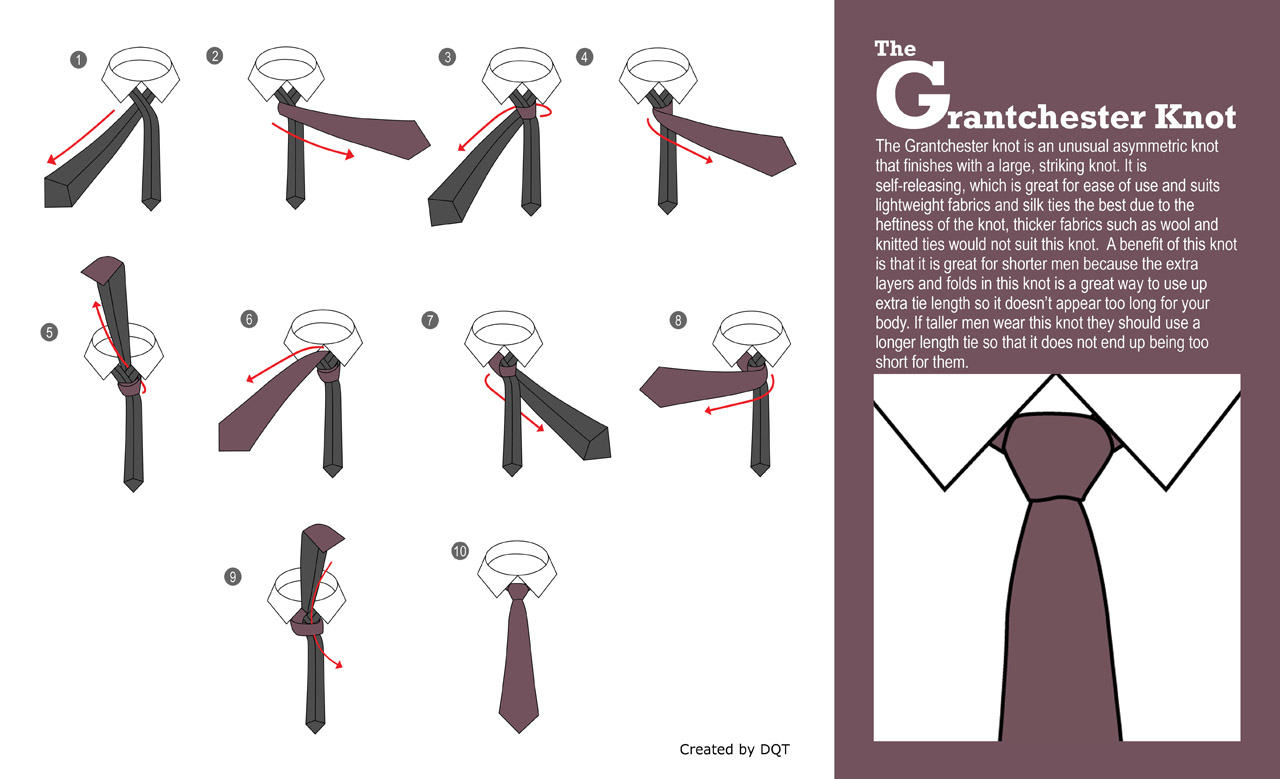 How To Tie a Grantchester Knot (15 of 21) by DQT