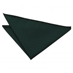 Dark Green Greek Key Handkerchief / Pocket Square