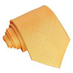Marigold Greek Key Classic Tie