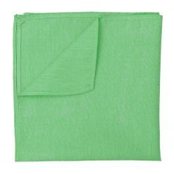 Mint Green Chambray Cotton Handkerchief / Pocket Square