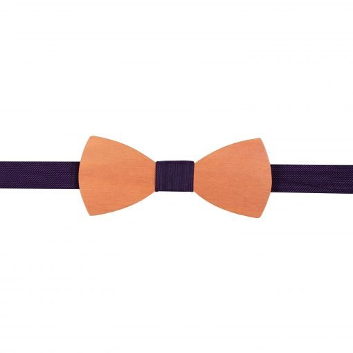 Tango Red Panama Silk Pointed Pre-Tied Bow Tie