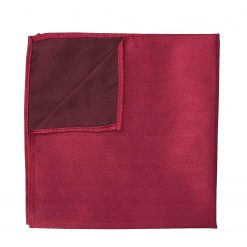 Burgundy Herringbone Silk Thistle Pre-Tied Bow Tie