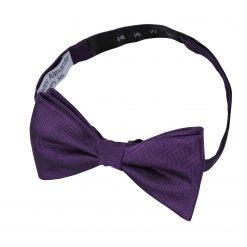 Aqua Herringbone Silk Thistle Pre-Tied Bow Tie