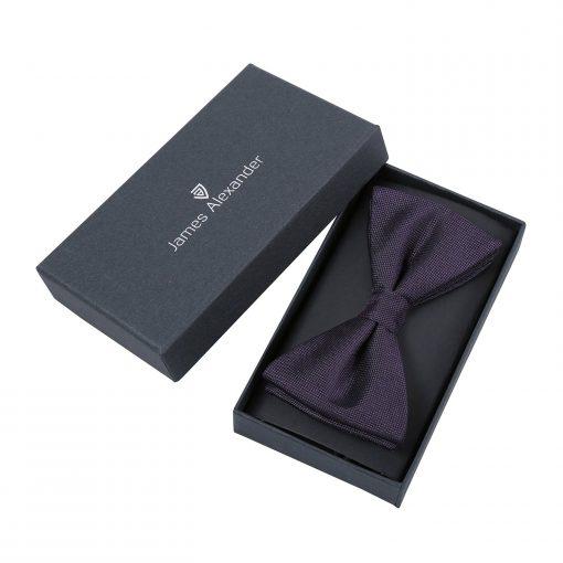 Tango Red Panama Silk Thistle Pre-Tied Bow Tie