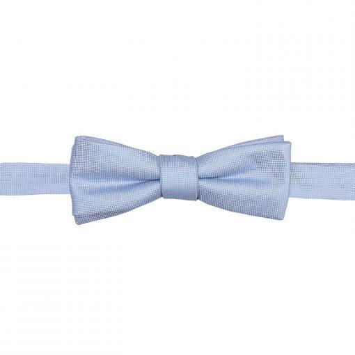 Cadbury Purple Panama Silk Batwing Self Tie Bow Tie