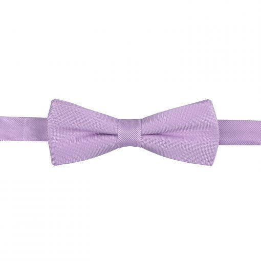 Lilac Panama Silk Batwing Pre-Tied Bow Tie