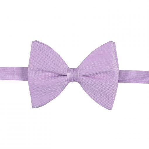 Lilac Panama Silk Butterfly Pre-Tied Bow Tie