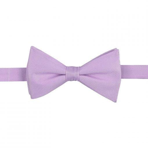 Lilac Panama Silk Thistle Pre-Tied Bow Tie