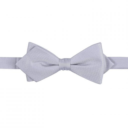 Cadbury Purple Panama Silk Pointed Pre-Tied Bow Tie