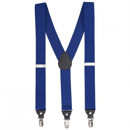 Royal Blue Plain Braces