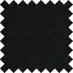Black Paisley Swatch