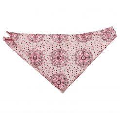 Pink Harmony Peony Paisley Pocket Square