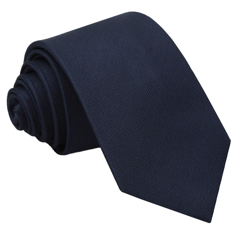 JA Panama Silk Navy Blue Slim Tie