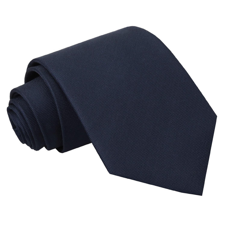 JA Panama Silk Navy Blue Tie