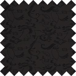 Black Floral Swatch