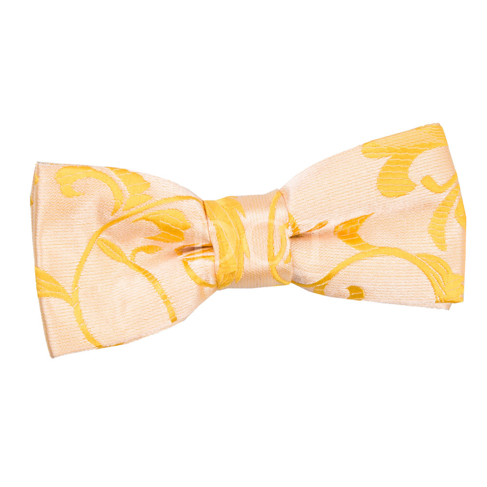 Men's Bow Ties The men's bow tie is one of the world's oldest fashion accessories, dating back to the 17th century. Modern bow ties come in a much wider variety since these early days and can now use materials like silk, satin, cotton, polyester, and leather.