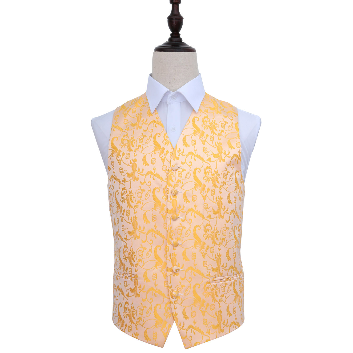 Passion Gold Wedding Waistcoat 36