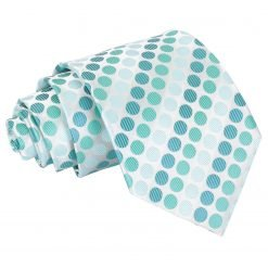 Turquoise Pastel Polka Dot Classic Tie