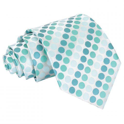 Turquoise Pastel Polka Dot Classic Tie