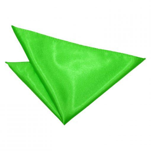 Apple Green Plain Satin Pre-Tied Wedding Cravat
