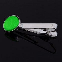 Apple Green Plain Tie Clip