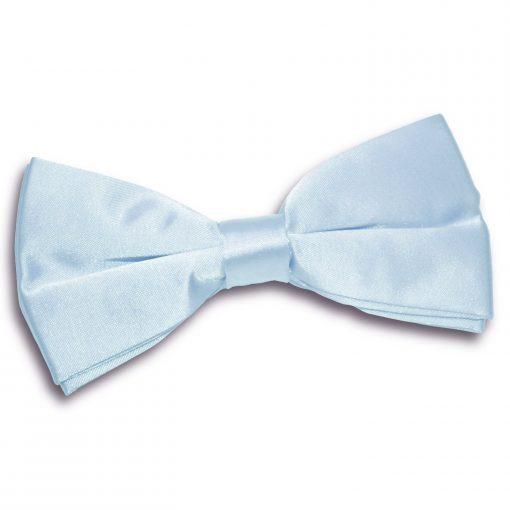 Baby Blue Plain Satin Pre-Tied Bow Tie