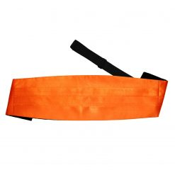 Burnt Orange Plain Satin Cummerbund