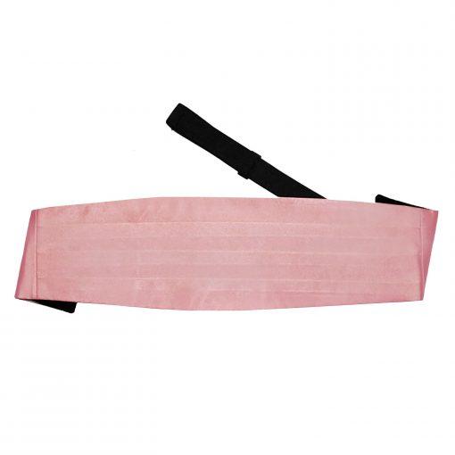 Dusty Pink Plain Satin Cummerbund