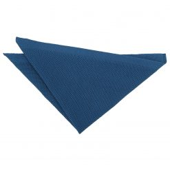 Cerulean Blue Knitted Pocket Square