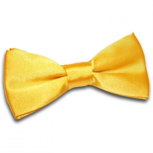 Marigold Plain Satin Pre-Tied Bow Tie