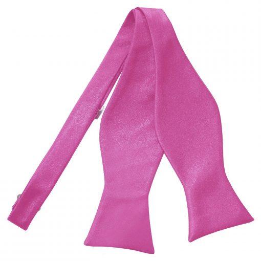 Mulberry Plain Satin Self-Tie Bow Tie
