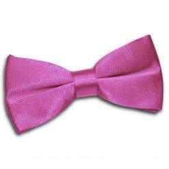 Mulberry Plain Satin Pre-Tied Bow Tie