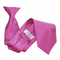 Mulberry Plain Satin Clip On Tie