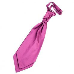 Mulberry Plain Satin Pre-Tied Wedding Cravat