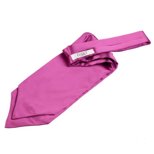 Mulberry Plain Satin Self-Tie Wedding Cravat