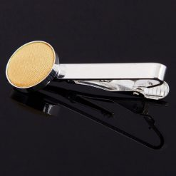 Pale Yellow Plain Tie Clip