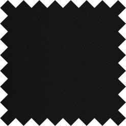 Black Plain Satin Swatch