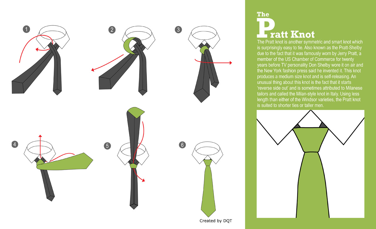 How To Tie A Over 20 Ways Dqt Tying Diagram Pratt Knot 5 Of 21 By